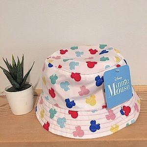 Colorful Disney Baby Minnie Mouse Bucket Hat